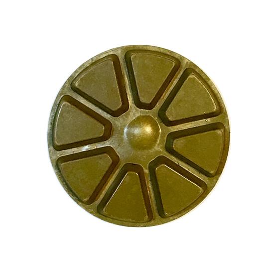 Diamond polishing pad with velcro for concrete